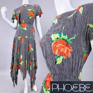 M/L Vintage Sharkbite Resort Dress